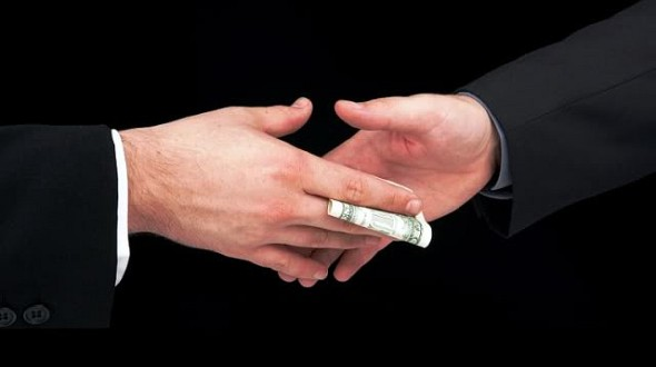 Cash-bribe